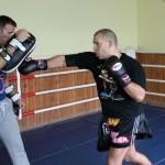 Удары руками в тайском боксе.